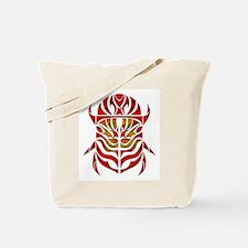 Red Scarab Tote Bag