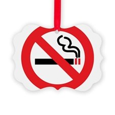Classic No Smoking Ornament