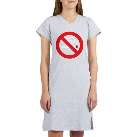 Classic No Smoking Women's Nightshirt