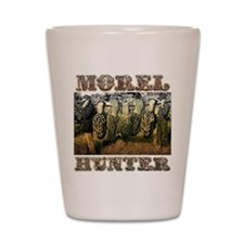 morel hunter Shot Glass