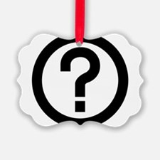 Question Ornament