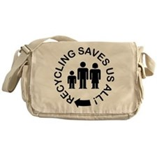 Everyone has a role Messenger Bag