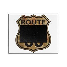 Golden Route66 Picture Frame
