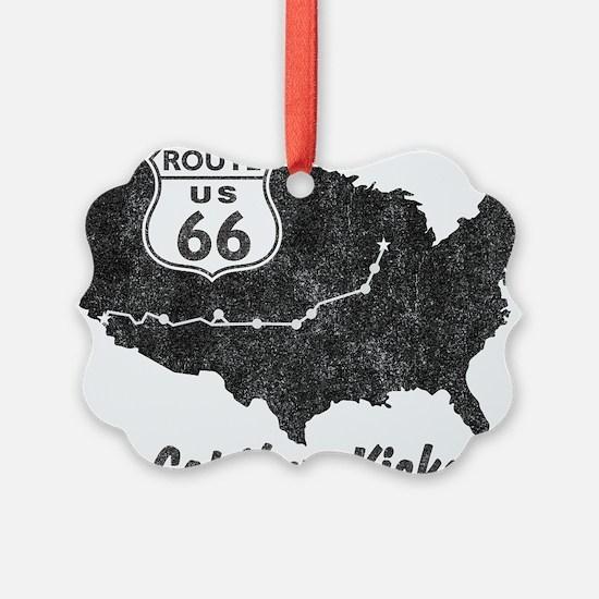 Retro Route66 Ornament