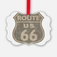 Vintage Route66 Ornament