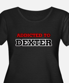 Addicted to Dexter Plus Size T-Shirt