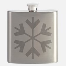 Vintage Snowflake Flask