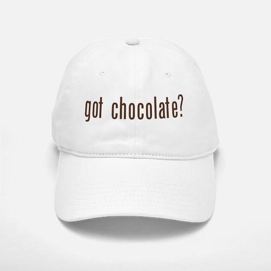 got chocholate? Baseball Baseball Cap
