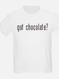 got chocholate? Kids T-Shirt
