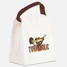3-turkaholica2.psd Canvas Lunch Bag