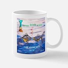 Fish Make Love Mug