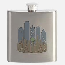 Dallas Skyline NewWave Beachy Flask