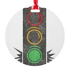 Vintage Trafficlight Ornament