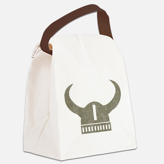 Vintage Viking Canvas Lunch Bag
