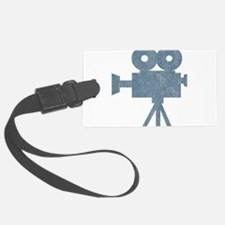Vintage Videocamera Luggage Tag
