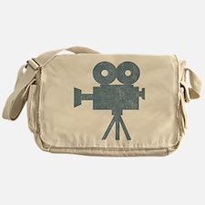 Vintage Videocamera Messenger Bag