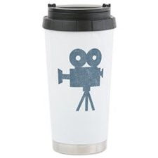 Vintage Videocamera Travel Mug