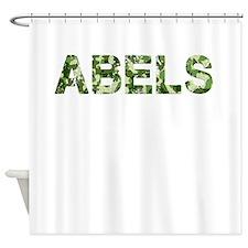 Abels, Vintage Camo, Shower Curtain