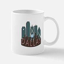 Dallas Skyline NewWave Chocolate Mug