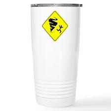 Warning Tornado Travel Mug