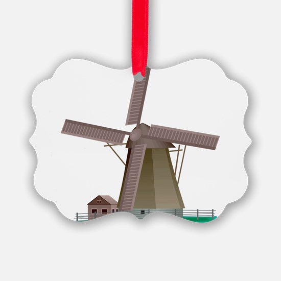 Windmill Power Ornament