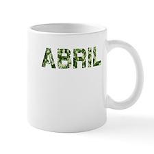 Abril, Vintage Camo, Mug
