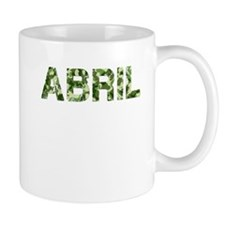 Abril, Vintage Camo, Small Mug