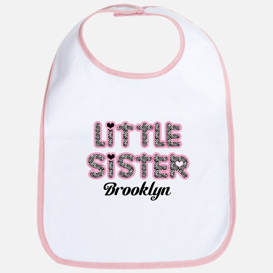 Custom little sister Bib