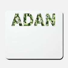 Adan, Vintage Camo, Mousepad