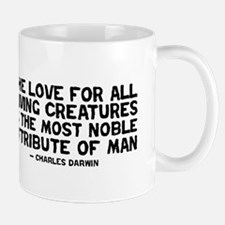 Quote Darwin - The Love Mug