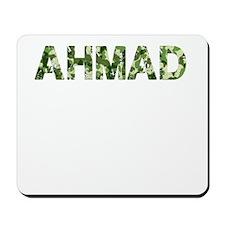 Ahmad, Vintage Camo, Mousepad