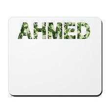 Ahmed, Vintage Camo, Mousepad