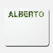 Alberto, Vintage Camo, Mousepad
