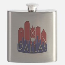 Dallas Skyline NewWave Patriot Flask