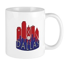 Dallas Skyline NewWave Patriot Mug