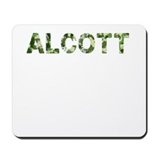 Alcott, Vintage Camo, Mousepad