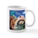 Keep a Diary Mug