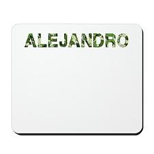 Alejandro, Vintage Camo, Mousepad