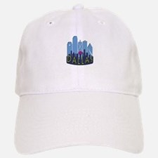 Dallas Skyline NewWave Cool Baseball Baseball Cap
