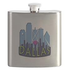 Dallas Skyline NewWave Cool Flask