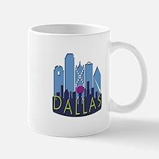Dallas Skyline NewWave Cool Mug