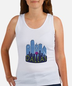 Dallas Skyline NewWave Cool Women's Tank Top