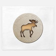 Park City Souvenir Moose King Duvet