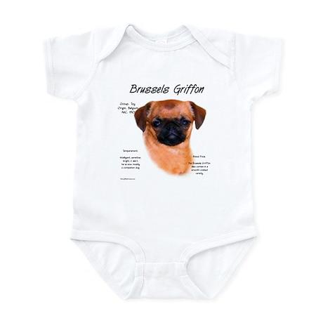 Smooth Brussels Griffon Infant Bodysuit