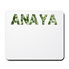Anaya, Vintage Camo, Mousepad