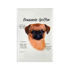 Smooth Brussels Griffon Rectangle Magnet