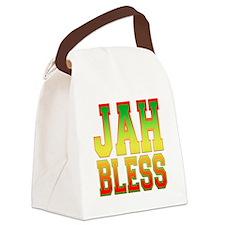 Jah Bless.png Canvas Lunch Bag