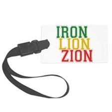 Iron Lion Zion.png Luggage Tag