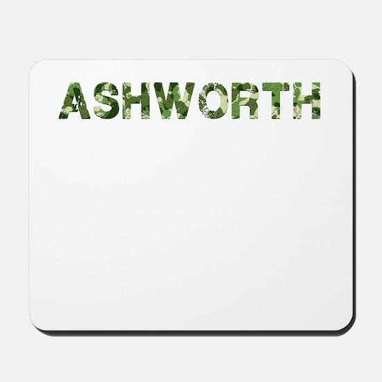 Ashworth, Vintage Camo, Mousepad