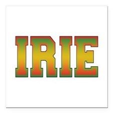 "irie.png Square Car Magnet 3"" x 3"""